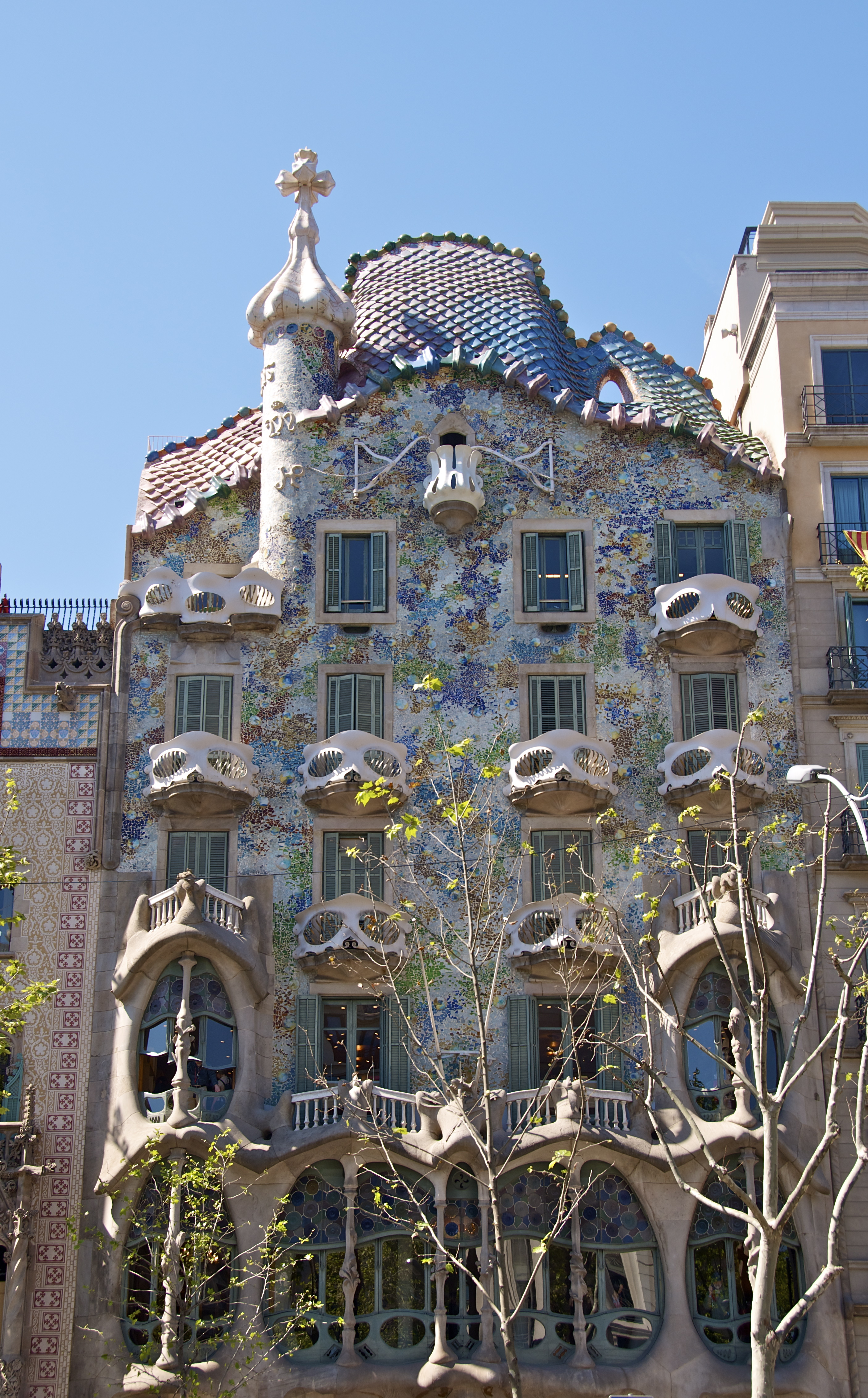 Casa Batlla In Barcelona Pushing Time