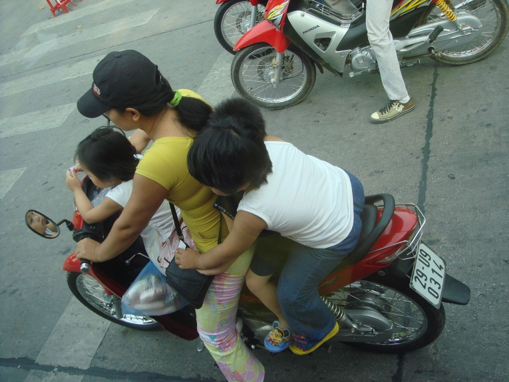transporting kids