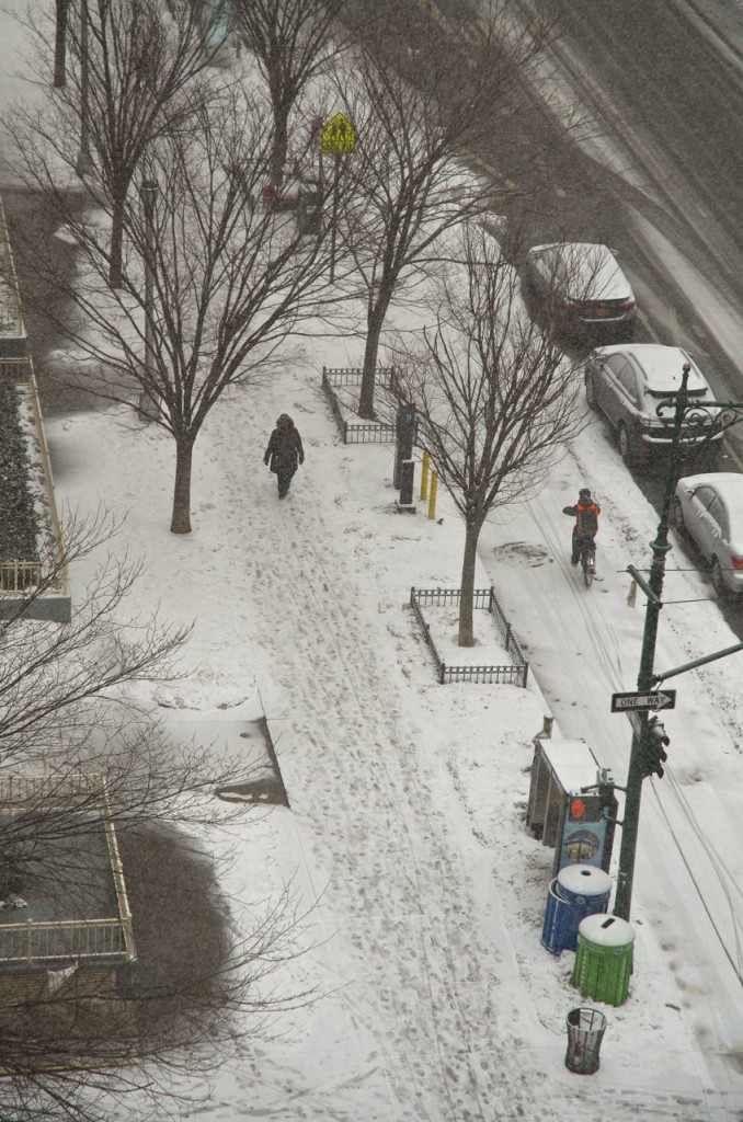 IT IS SNOWING AGAIN