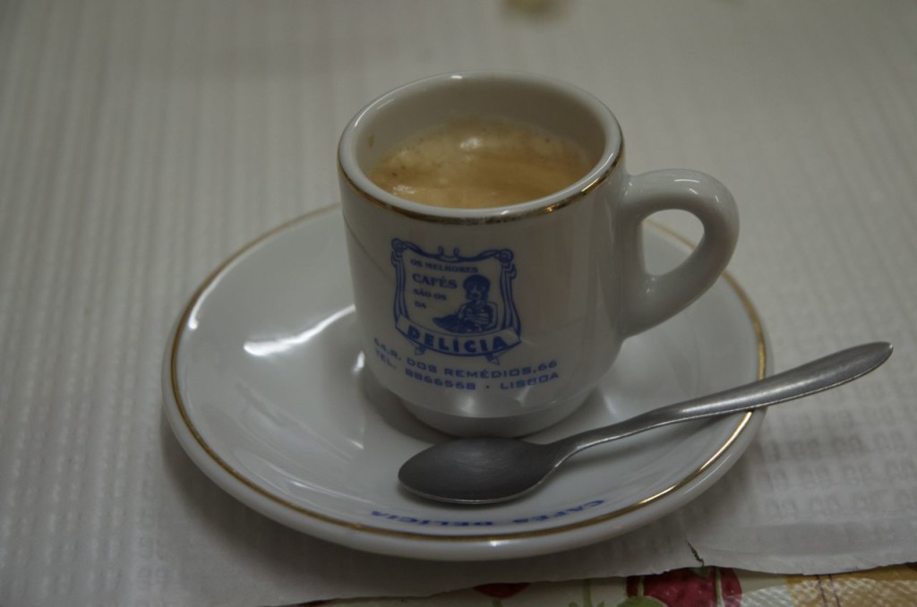 a shot of coffee