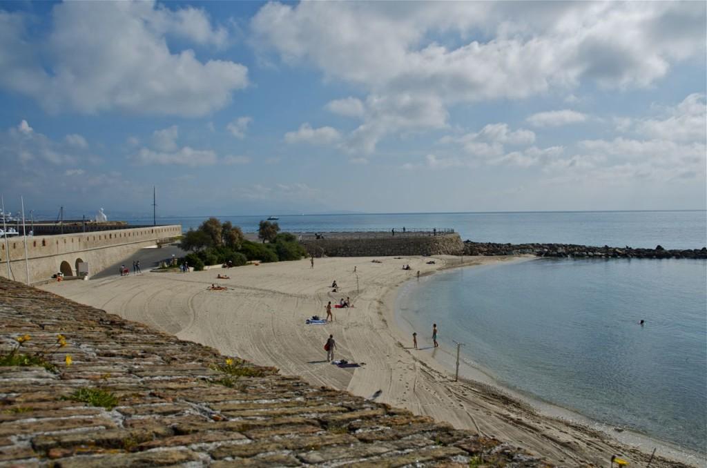 old antibes beach
