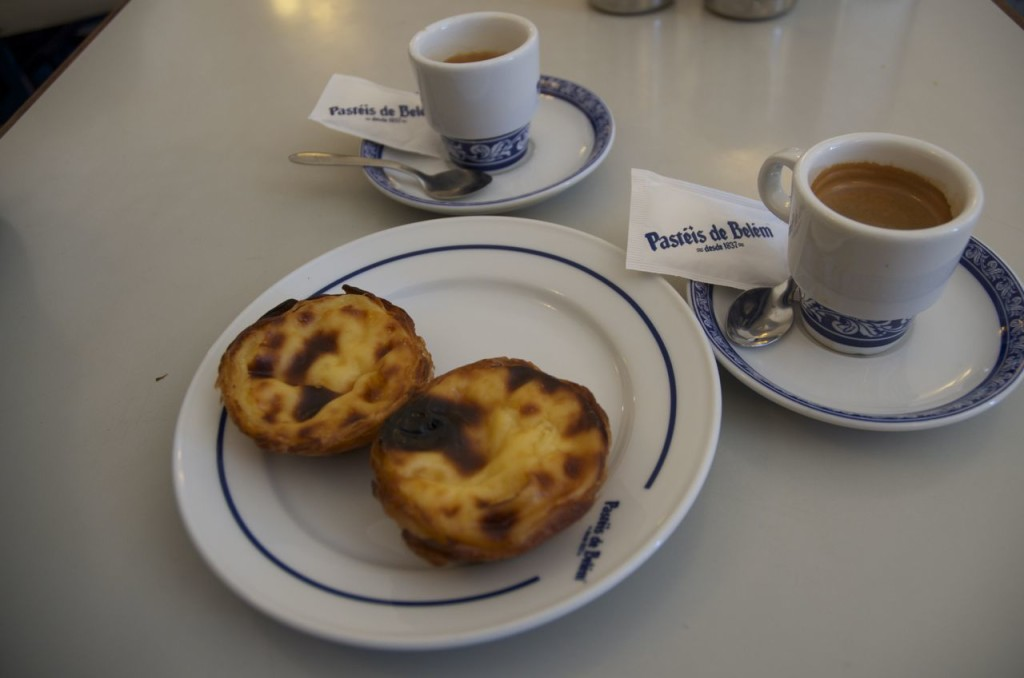 pastry and coffee for two