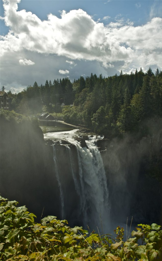 The Snoqualmie Falls