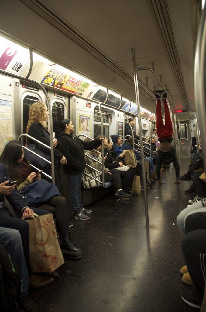 #2 acrobatics in the subway