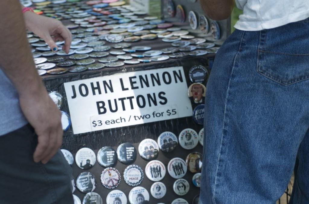 John Lennon buttons