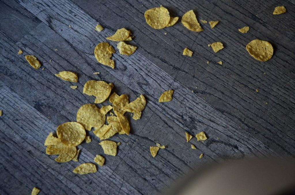 fallen chips