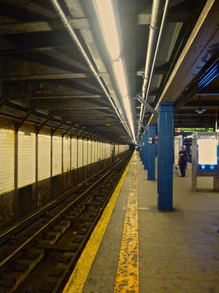 RETROSPECTIVE OF TWO YEARS RIDING THE NYC SUBWAY