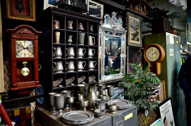 pewter, clock, mirror and etc. - 1